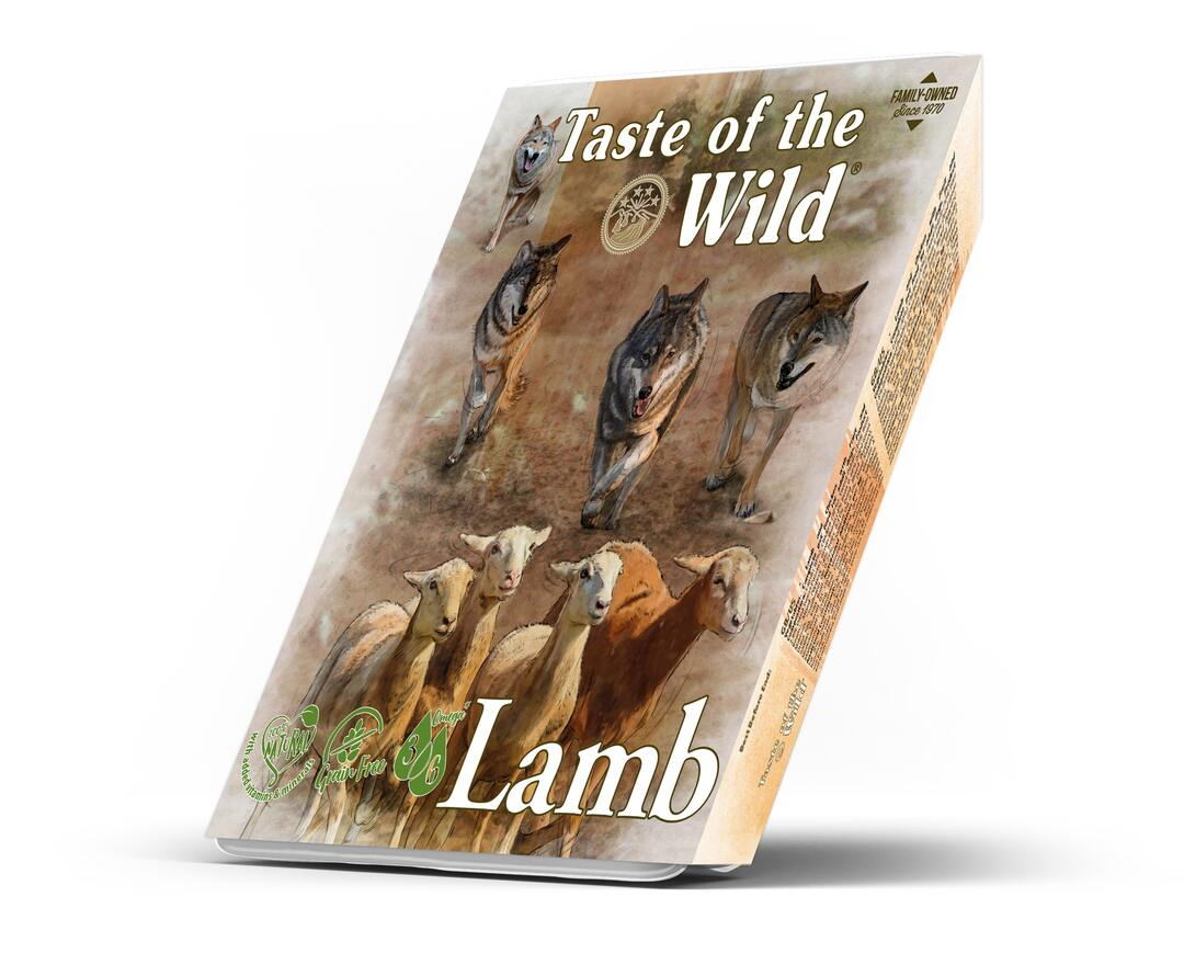 Taste of the wild - Lamb&Chicken Dog Tray 390g